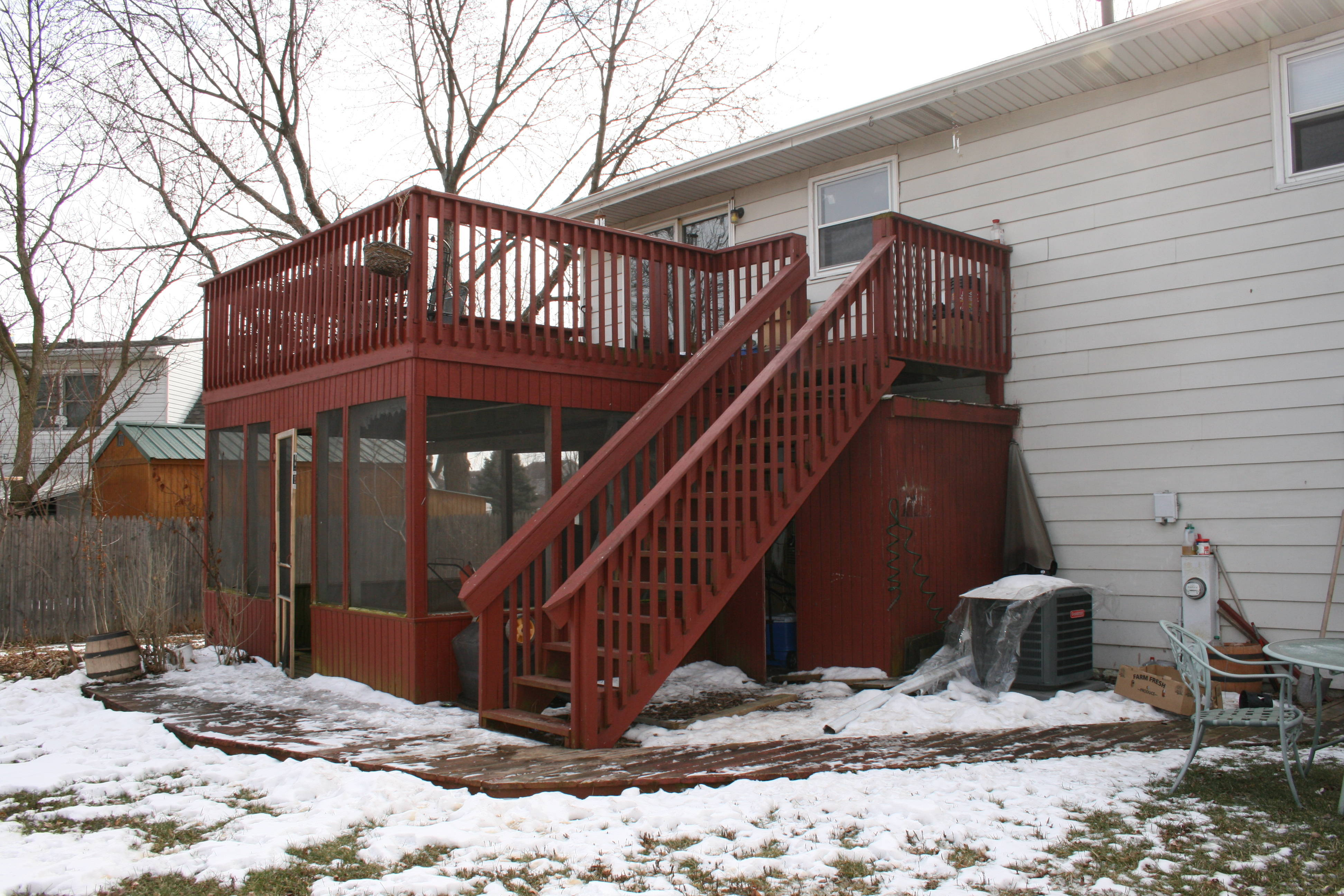 Raised Deck For Kids