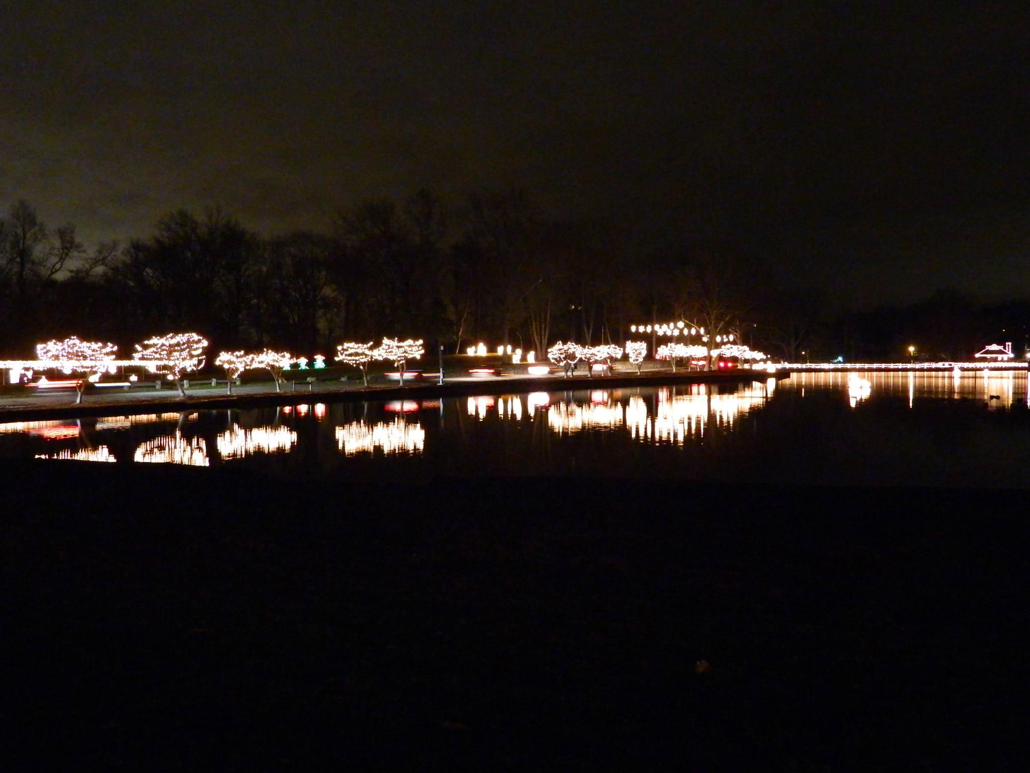 Silver Lights Festival Hubbard Park Meriden CT