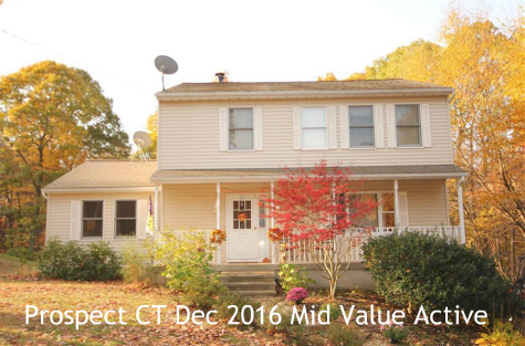 Prospect CT December 2016 Real Estate Market Trends