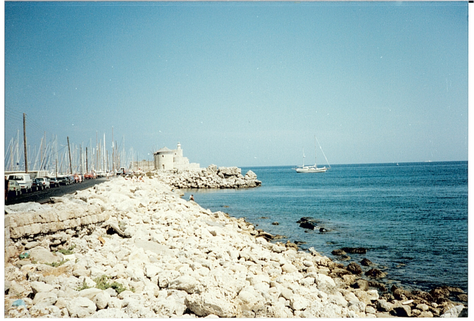 Enjoying the Scenary of Rhodes Greece    Throwback Thursday