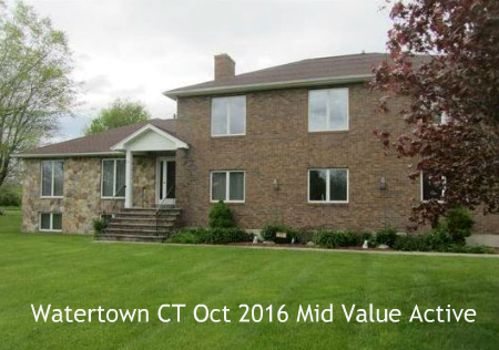 Watertown CT Real Estate Sales Report for October 2016