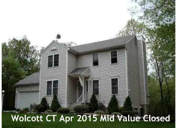 Wolcott CT Real Estate Sales Report for April 2015