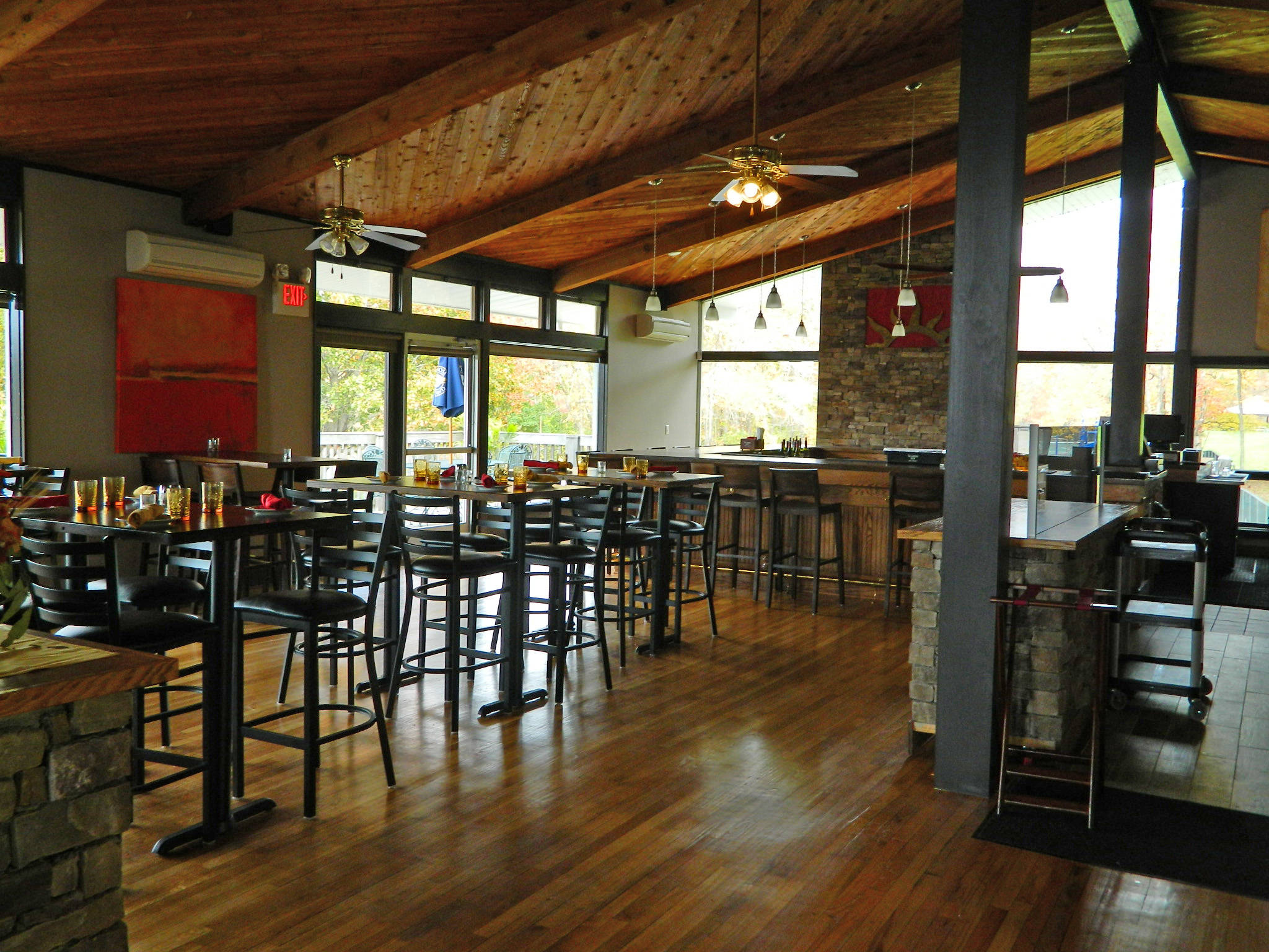 Sunset grill at crestbrook park watertown ct for The brook kitchen and tap