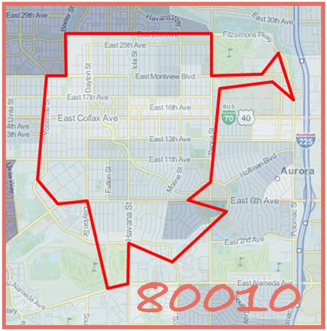 100 colorado zip code map stapleton denver