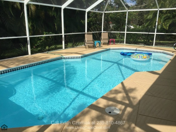 Homes in Cape Coral FL - Get this chance to have your own heated pool in this Cape Coral FL pool home for sale.