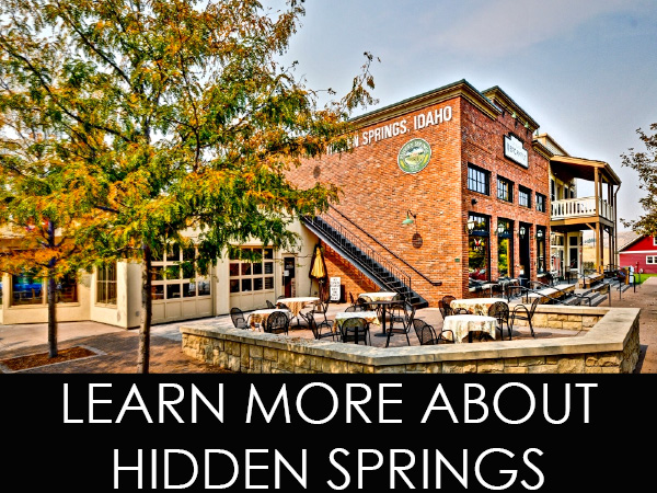 About Hidden Springs Idaho