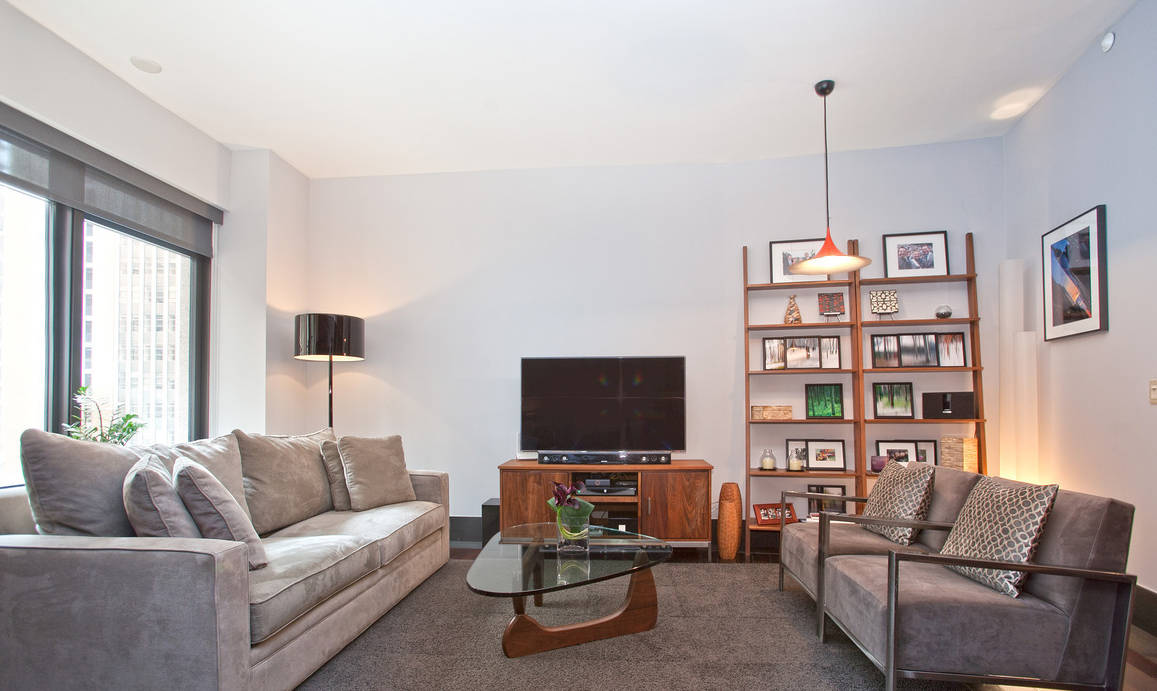 Financial District Condos For sale Spacious Living Room