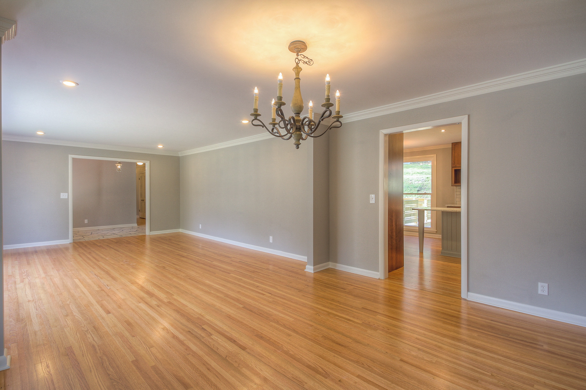 Foyer Living Room Combo : Beautiful west meade renovation