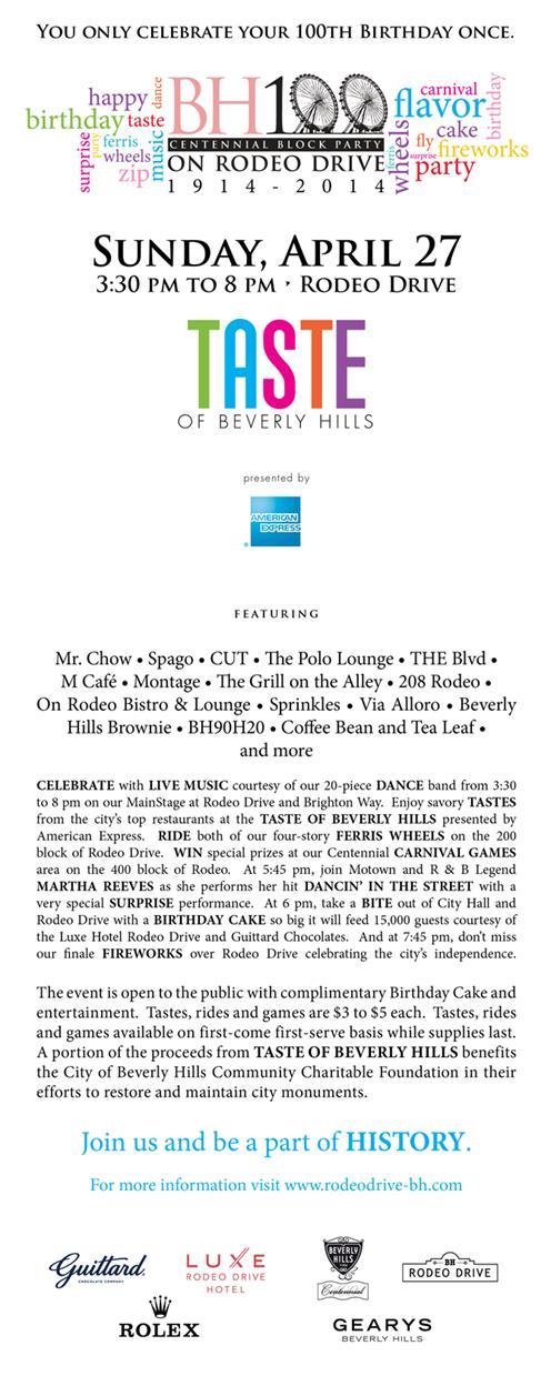 Beverly Hills 100th year Birthday! Endre Barath Beverly Hills Realtor!