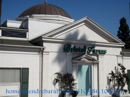 Bristol Farms Grocery Store in Beverly Hills, Endre Barath Beverly Hills Realtor