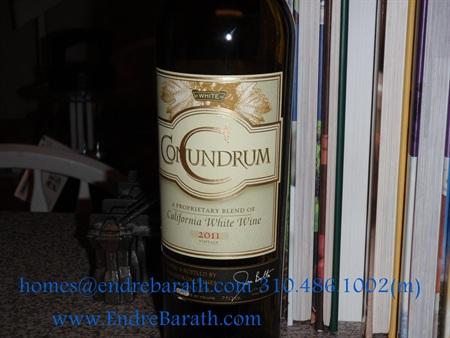 los angeles realtor, conundrum Wine, Endre Barath