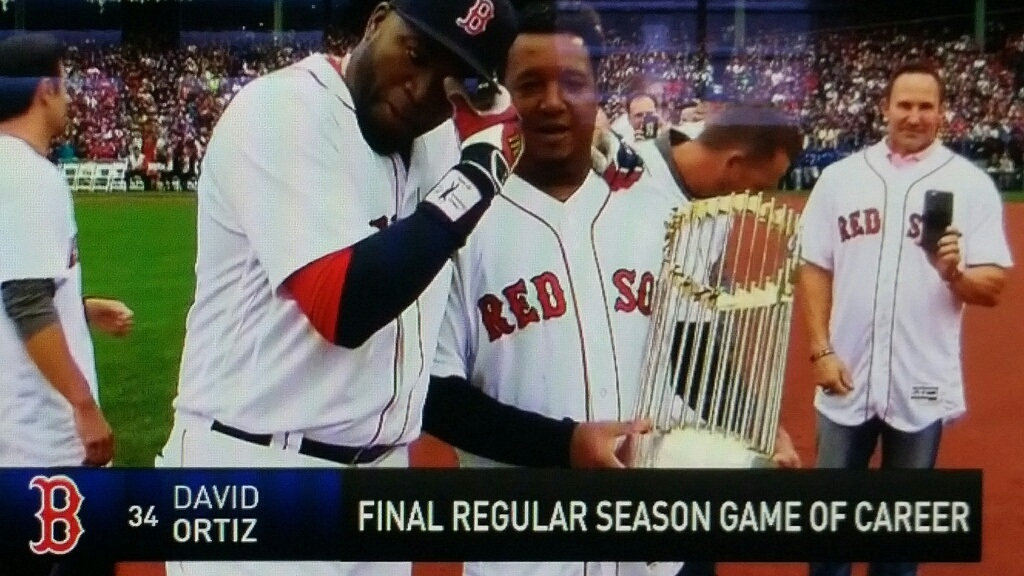 Speechless Sunday: David Ortiz's Final Regular Season