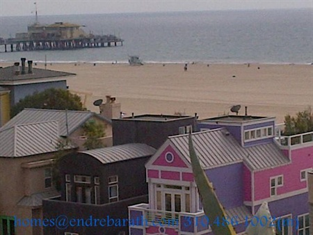 ocean views near the santa monica pier, endre barath, ocean view homes in Marina Del Rey