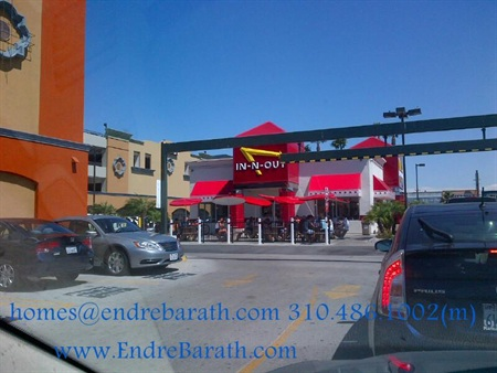 In-N-Out, Los Angeles Realtor Endre Barath,Jr.