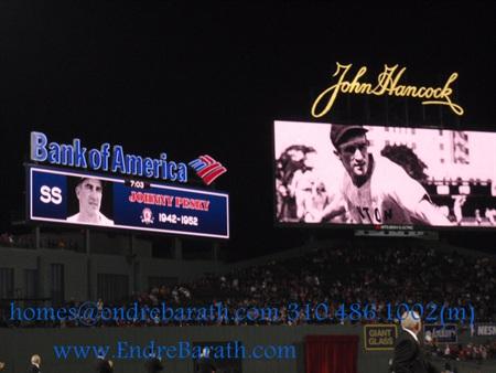 Baseball Loving Los Angeles Realtor, Endre Barath, Johnny Pesky