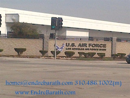 Los Angeles Air Force Base, Endre Barath, Los Angeles realtor