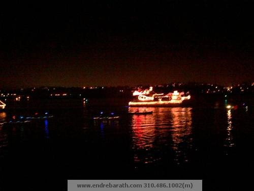 endre barath, marina del rey boat parade