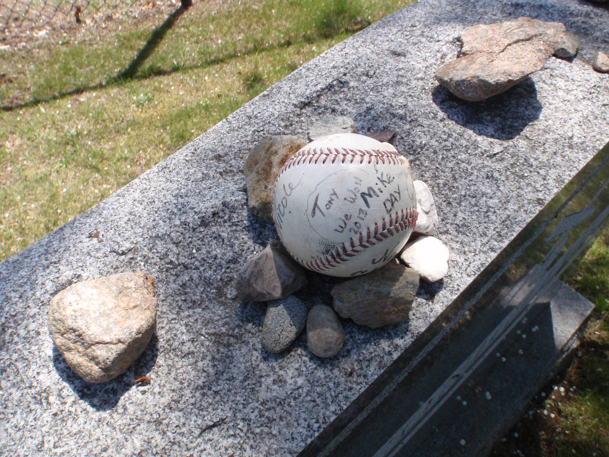 Tony C's Grave, Endre Barath Los Angeles Realtor