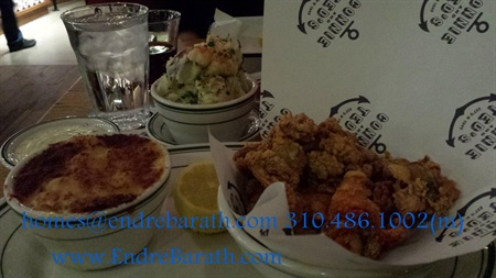 Connei & Ted East Coast style seafood restaurant in Los Angeles, Endre Barath los angeles realtor