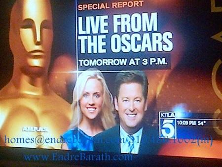 The Academy Awards, Endre Barath Los Angeles Realtor