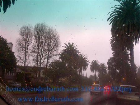 rain in Los Angeles, Endre Barath