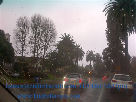 Rain in LA Endre Barath