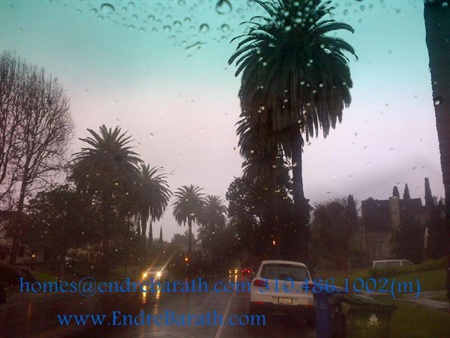 rain in sunny los angeles, endre barath