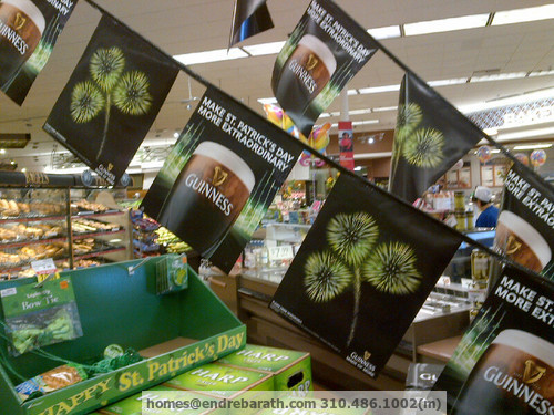 St Patrick's Day Traditions, Endre Barath, Los Angeles Realtor