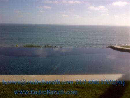 Malibu Views, Infinity Pool, Ocean view home, Endre Barath Malibu Realtor