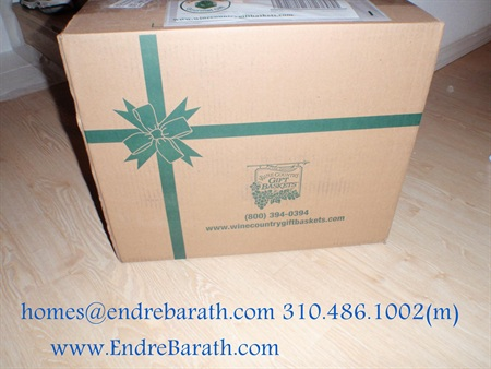 endre barath, los angeles realtor, wine country giftbaskets