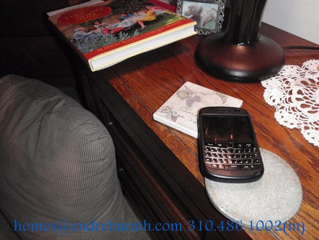 BlackBerry next to bed Endre Barath Beverly Hills Realtor