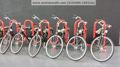 bycicles in Los Angeles, Bike Share, Endre Barath