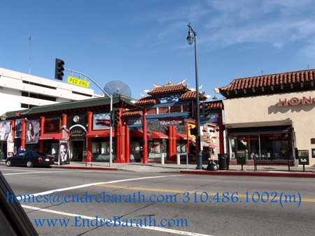 Chinatown Los Angeles, Endre Barath Los Angeles Realtor