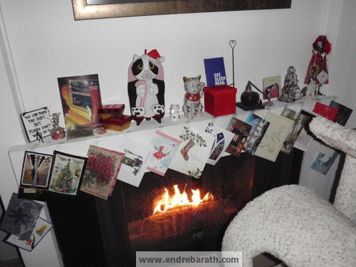 Christmas Decorations In A Pet Friendly Realtor 39 S Home In