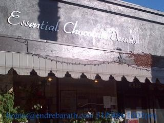 essential chocolate, endre barath culver city real estate