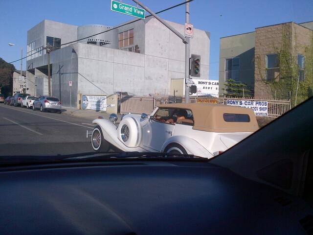 excalibur on the road, Endre Barath, Los Angeles Realtor