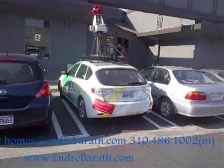 google street view car, endre barath