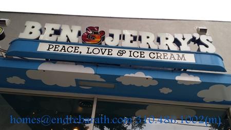 Ben & Jerry's Santa Monica, CA, Endre Barath Santa Monica Condo Specialisty