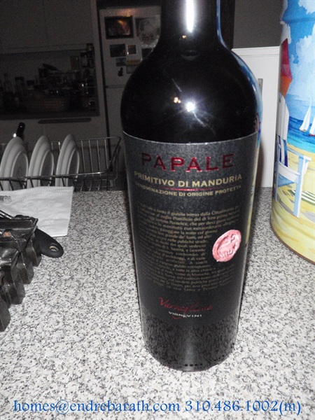 papale primitivo, the redd collection, endre barath