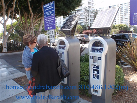 solar powered parking meters, Endre Barath