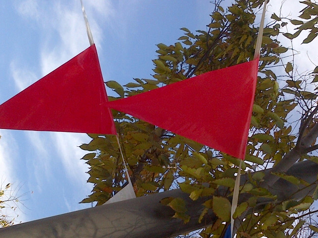 red flags by Endre Barath Los Angeles Realtor