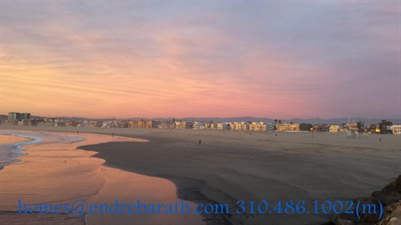 Sunset in Marina Del Rey, CA, Endre Barath