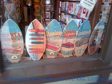 Surf Boards in Santa Monica, Endre Barath,