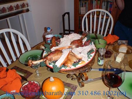 Thanksgiving Red Wine, Endre Barath Los Angeles Realtor