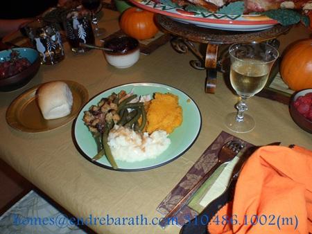 Thanksgiving Wine, Endre Barath