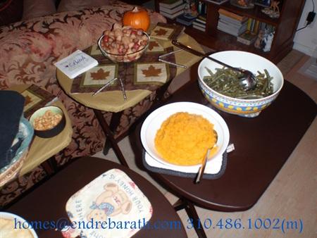 Thanksgiving Dinner, Endre Barath, Marina Del Rey Realtor