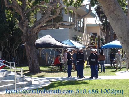 los angeles real estate, endre barath, veterans day