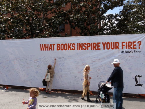 what inspire you, Endre Barath los angeles realtor, Los Angeles festival of books