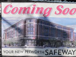 Safeway Under Construction in Petworth DC