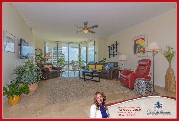 St. Petersburg FL Condos - Enjoy living in the recently renovated Bayfront Tower where this St Petersburg spectacular condo unit for sale is located.